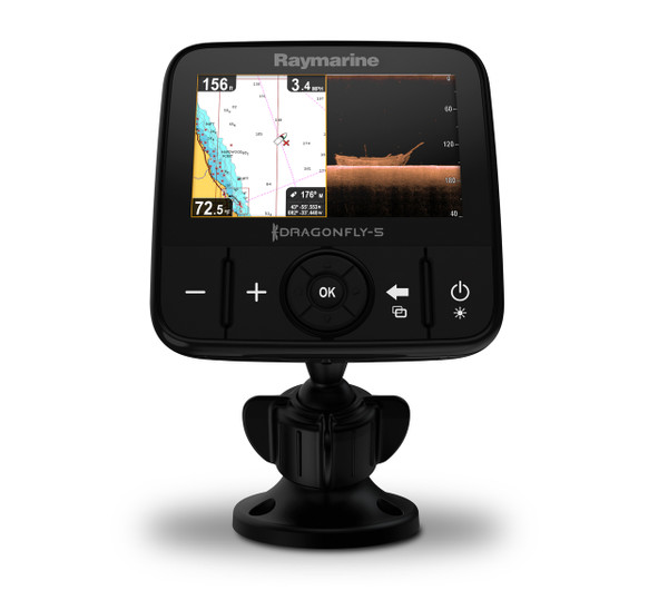 Raymarine Dragonfly 5PRO Fishfinder Front View