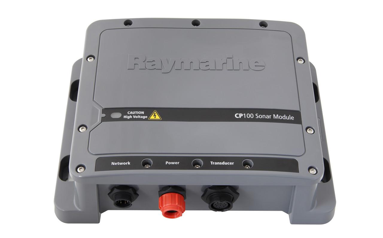 Raymarine CP100 Downvision Fishfinder Sonar Module Angled View