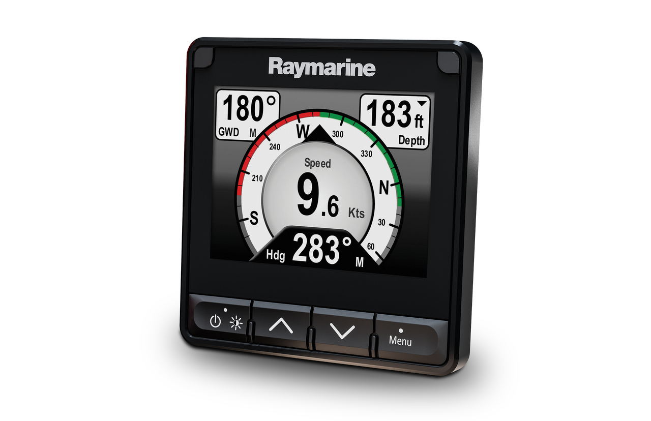 Raymarine i70s Multifunction Colour Display Left View