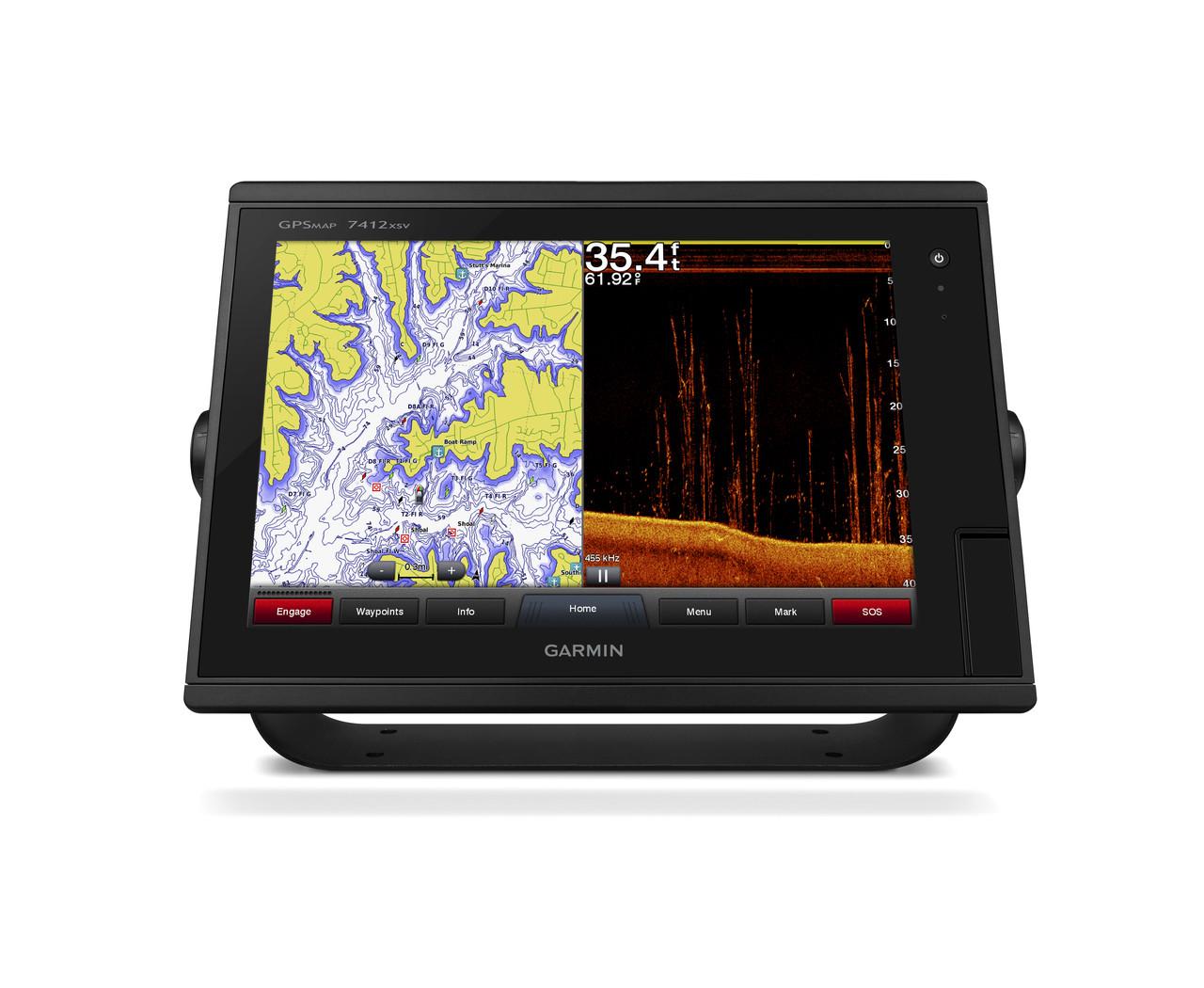 Garmin GPSMAP 7412xsv Front View