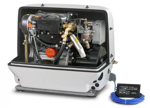Paguro 6000 Marine Generator Open
