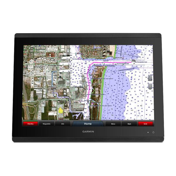Garmin GPSMAP 8417 Multifunction Display Chart Front View