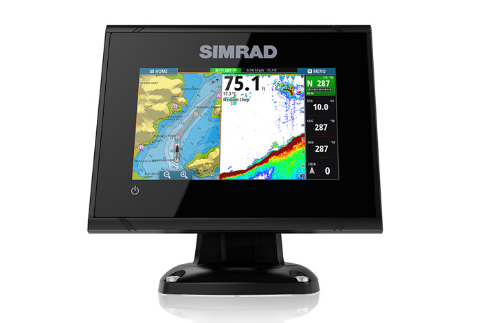 Simrad GO5 Multifunction Display Front View