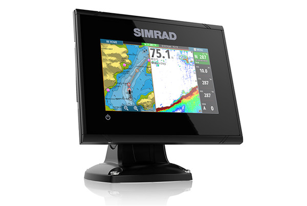 Simrad GO5 Multifunction Display Right View