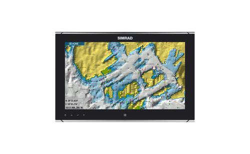 Simrad MO16-T Monitor Chart