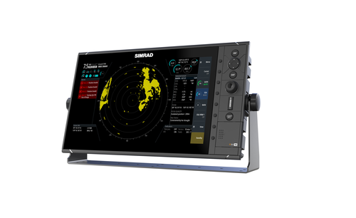Simrad R3016 Radar Control Unit Left View