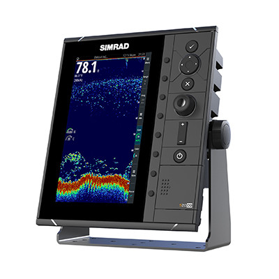 Simrad S2009 Fishfinder Left View