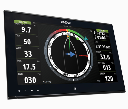 B&G ZM19-T Touch Monitor Right View