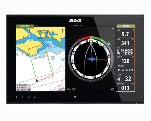 B&G ZM19-T Touch Monitor Front View