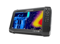 Lowrance HDS-9 Carbon GPS/Fishfinder Left View