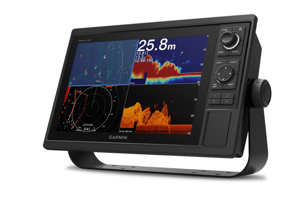 Garmin GPSMAP 1222xsv Multifunction Display Split Screen