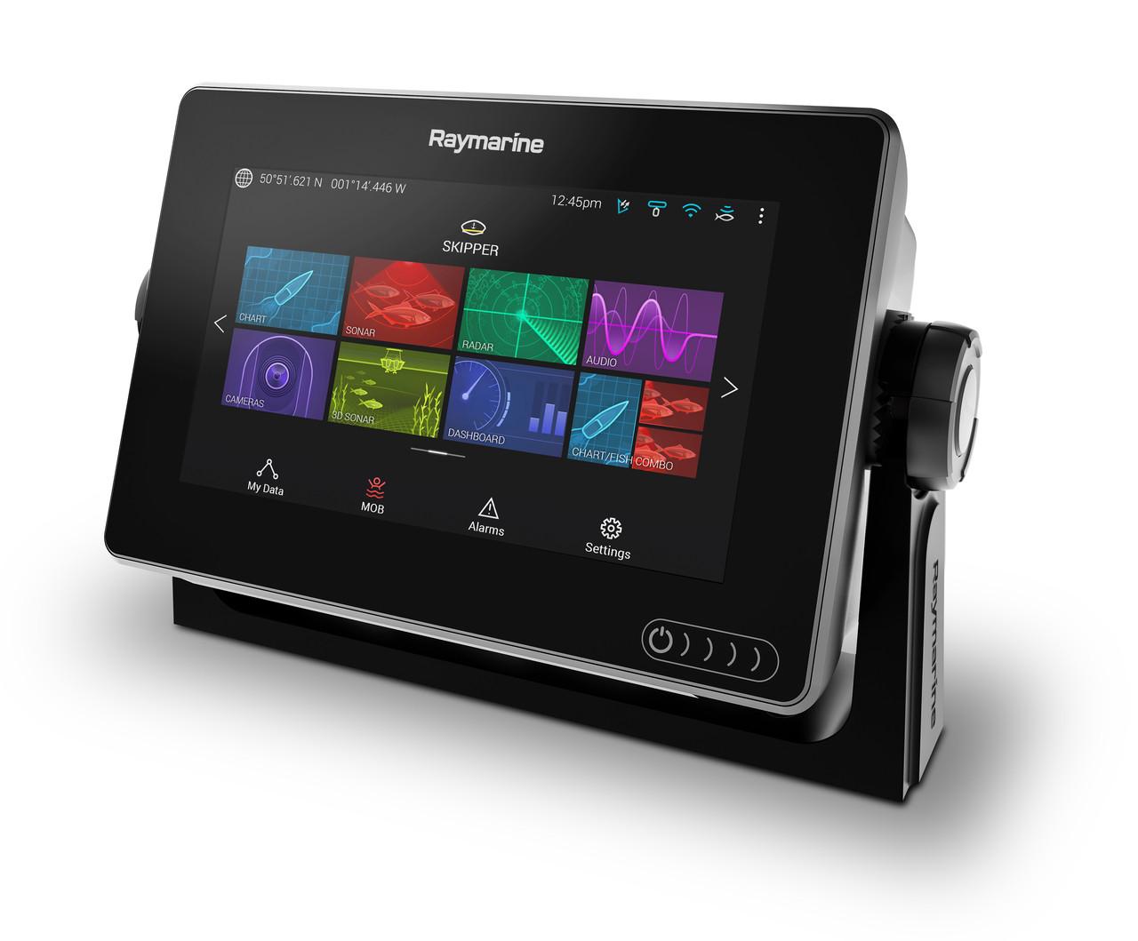 Raymarine Axiom 7 Multifunction Display Right Angle View