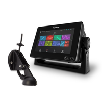 Raymarine Axiom 7 Multifunction Display & CPT-S Transducer