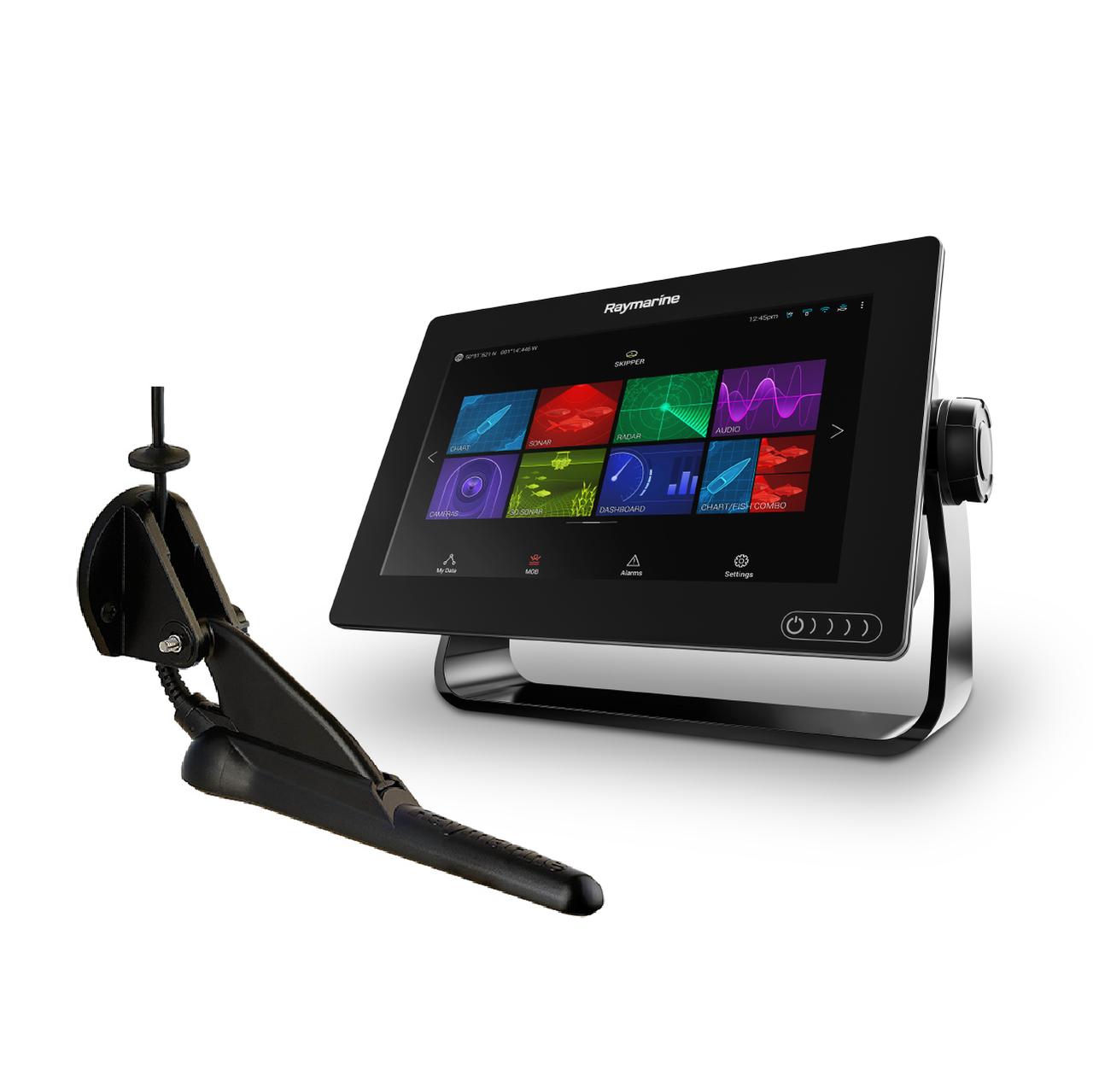 Raymarine Axiom 9 with RealVision 3D & CPT-100DVS Transducer