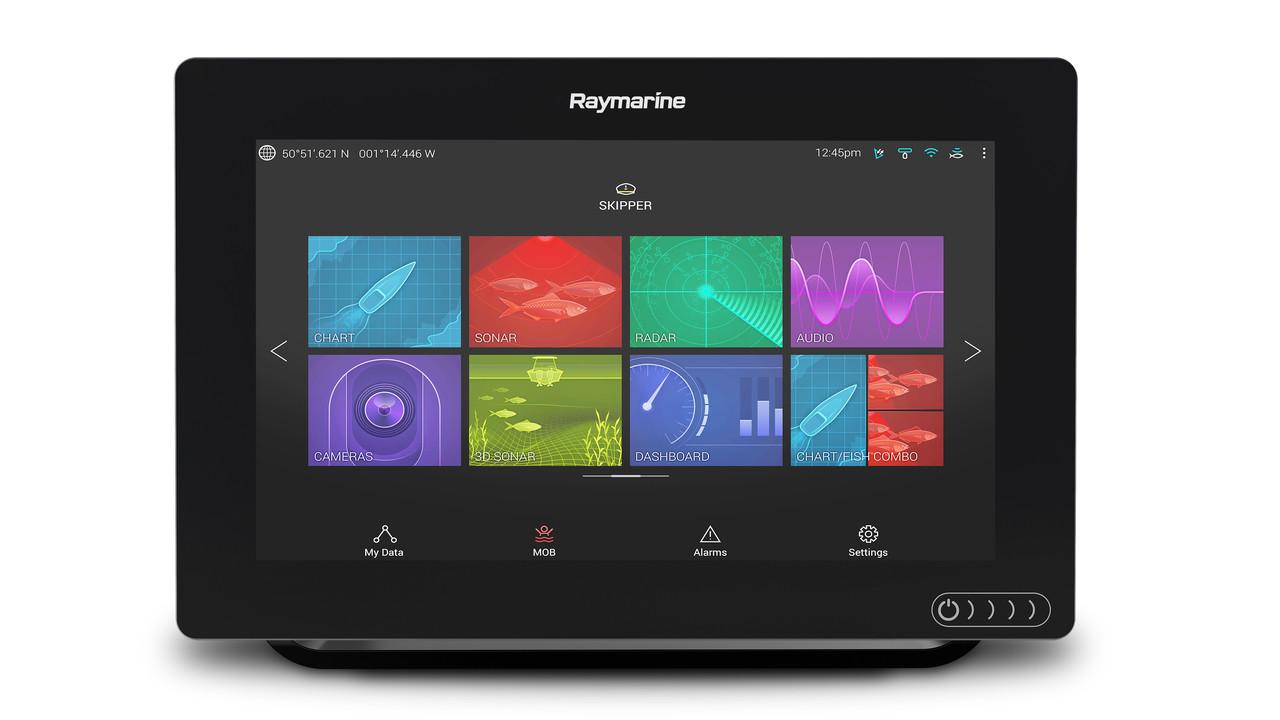 Raymarine Axiom 9 Multifunction Display Front View