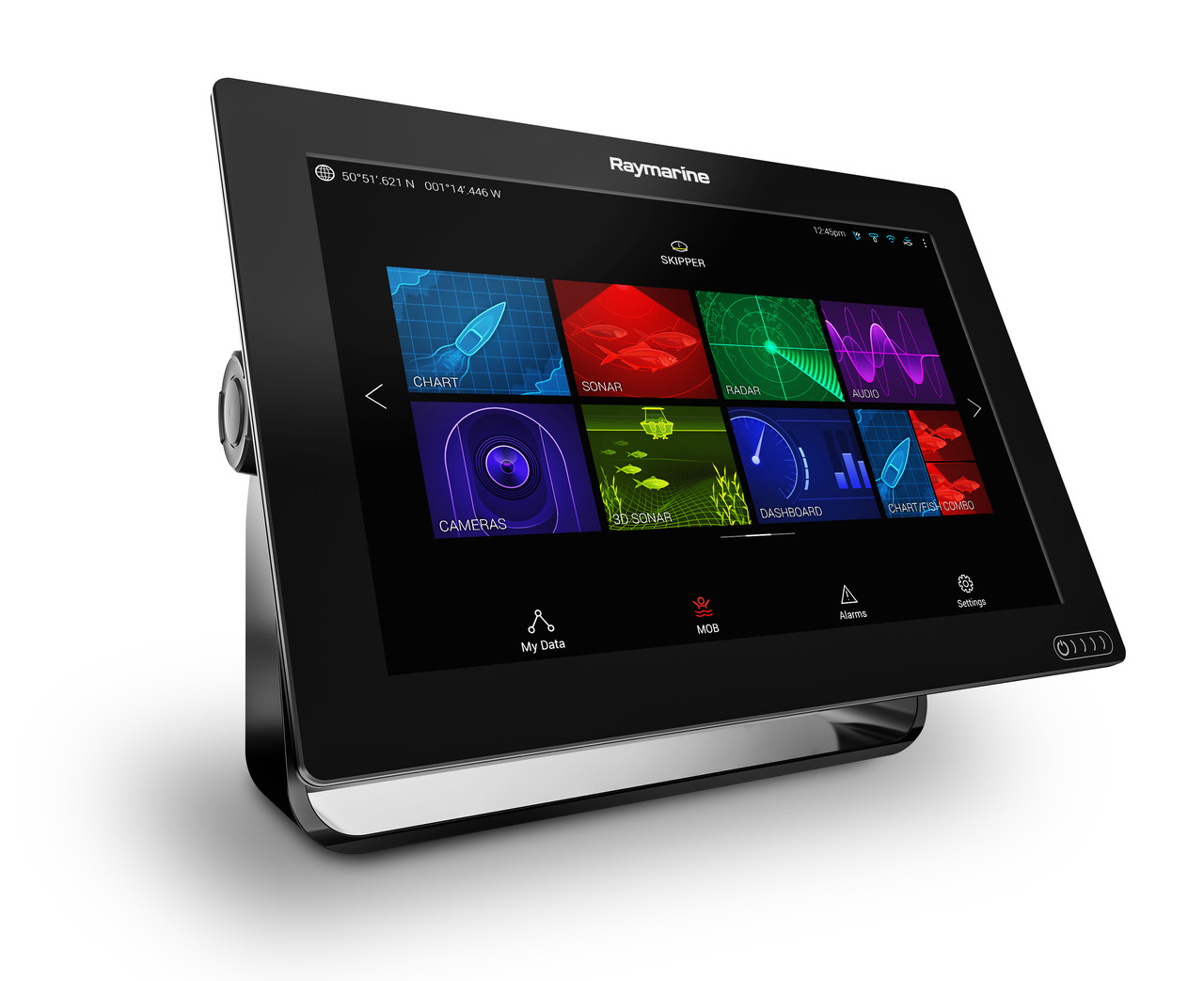 Raymarine Axiom 12 Multifunction Display Right View
