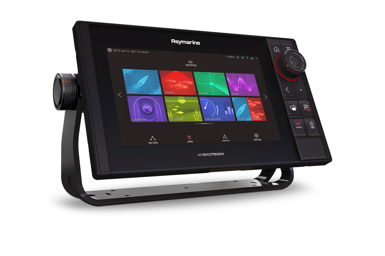 Raymarine Axiom Pro 9 RVX Multifunction Display Right View
