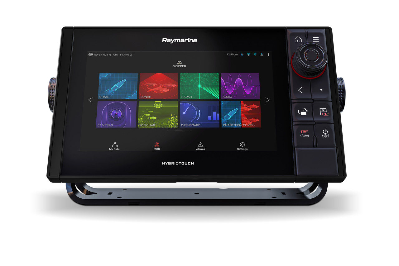 Raymarine Axiom Pro 9 RVX Multifunction Display Front Tilted