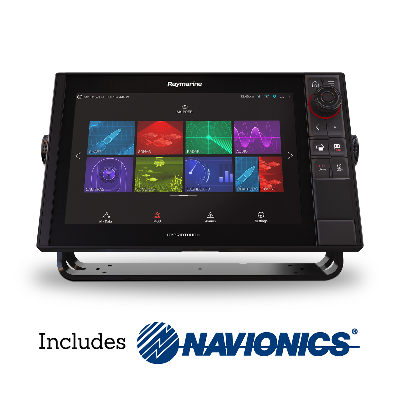 Raymarine Axiom Pro 12 S Multifunction Display with EMEA Navionics+ Small