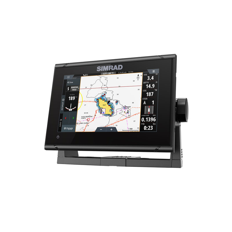 Simrad GO7 XSR Multifunction Display with Active Imaging Transducer