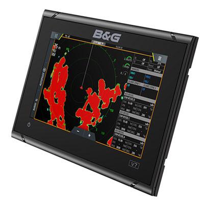 B&G Vulcan 7R Multifunction Display Left View