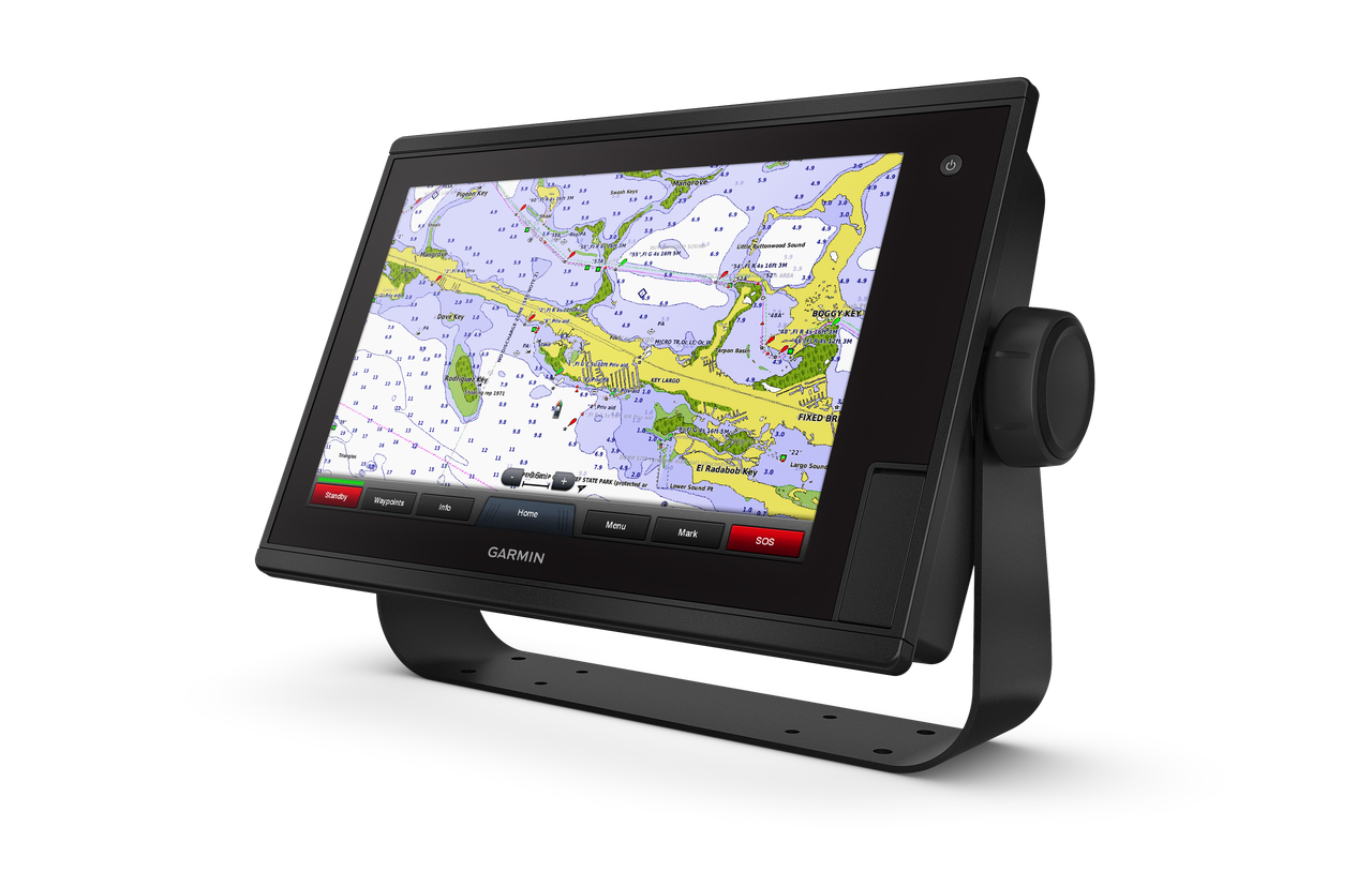 Garmin GPSMAP 1222xsv Touch Left View