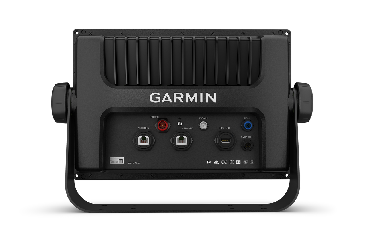 Garmin GPSMAP 1222xsv Touch Back View