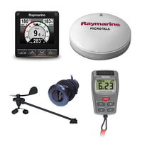 Raymarine i70s, Wireless Wind, DST800 and BB Kit