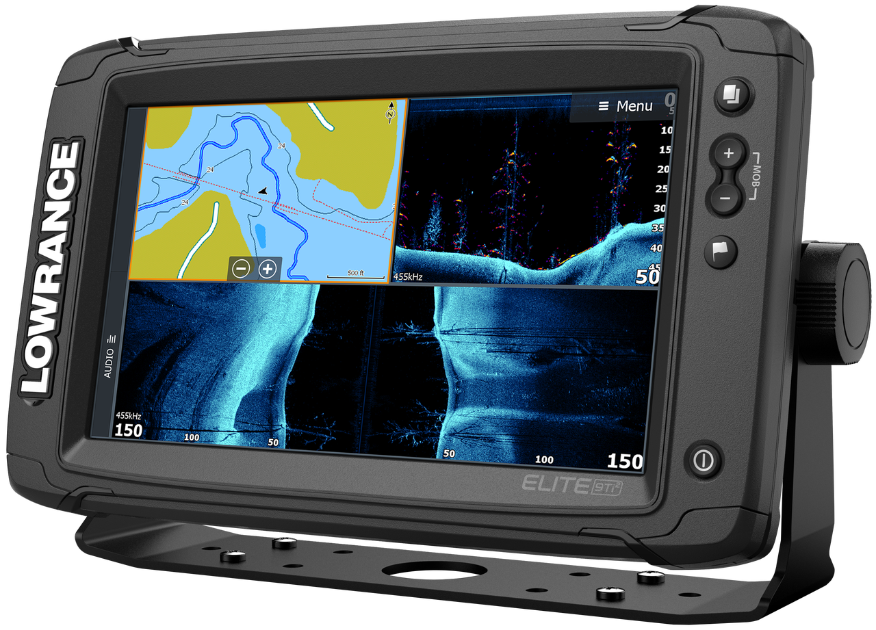 Lowrance Elite-9 Ti² & Active Imaging 3-in-1 Transducer