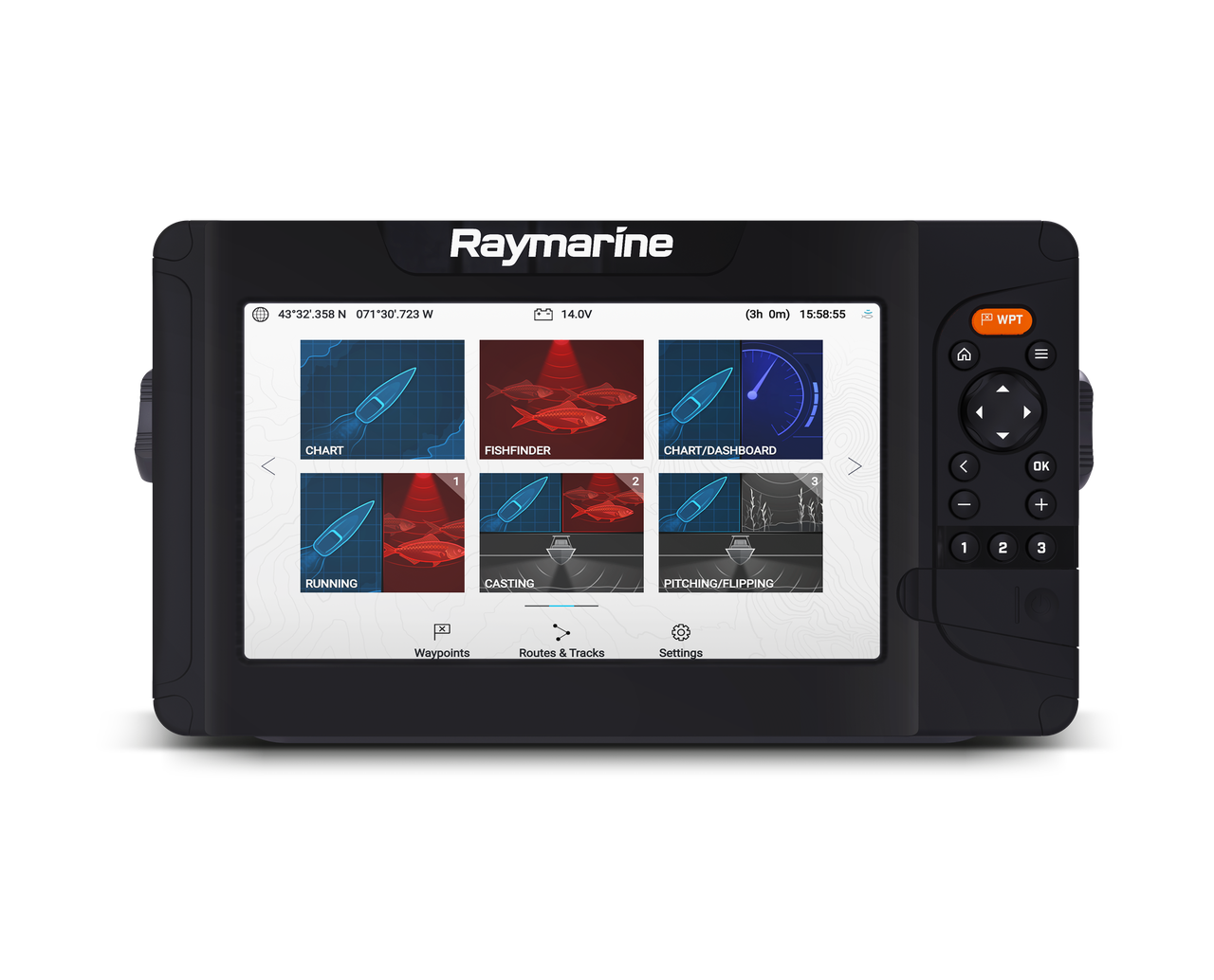 Raymarine Element 7 HV Home Front