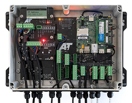 A+T ATP2 Processor distributed system