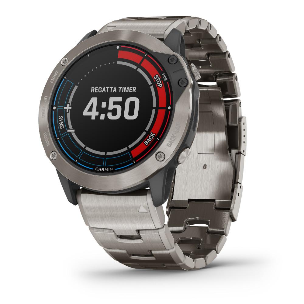 quatix 6X solar regatta timer