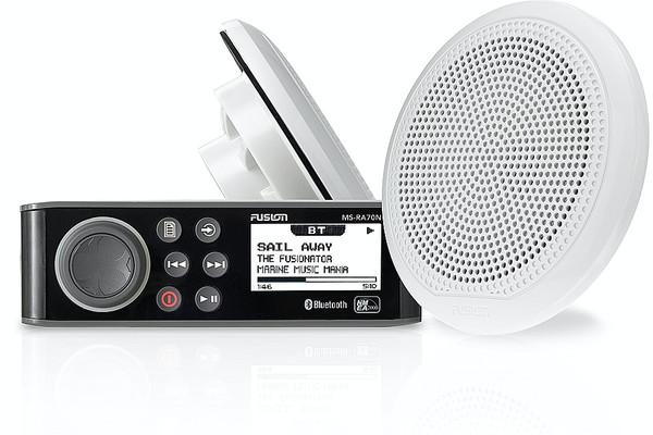 """Fusion MS-RA70N & 6.5"""" 2-Way Speaker Pack"""
