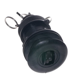Raymarine Speed Transducer (Speed and Temperature, Retractable with Flap Valve)