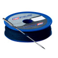 FSE Robline Waxed Tackle Yarn Whipping Twine Kit w\/Needle - Dark Navy Blue - 0.8mm x 80M [TY-KITBLU]