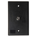 KING Jack PB1001 TV Antenna Power Injector Switch Plate - Black [PB1001]