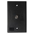 KING Jack PB1001 TV Antenna Power Injector Switch Plate - Black [PB1001]