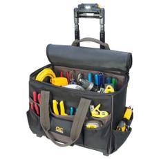"""CLC Tech Gear 17 Pocket - Light Handle 17"""" Roller Bag [L258]"""
