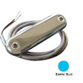 Shadow-Caster Courtesy Light w\/2' Lead Wire - 316 SS Cover - Bimini Blue - 4-Pack [SCM-CL-BB-SS-4PACK]