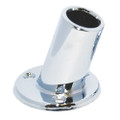 "Taylor Made 1"" Slanted Chrome Plated Flag Pole Socket [962]"