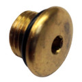 Uflex Brass Plug w\/O-Ring for Pumps [71928P]