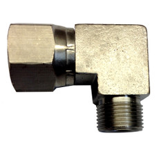 Uflex 90 3\/8 NI Plate Comp Fitting [MD 38 NI COM FT]