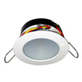 i2Systems Apeiron Pro A503 Tri-Color 3W Round Dimming Light - Warm White\/Red\/Blue - White Finish [A503-31CBBR-HE]