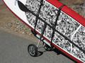 Wheeleez Stand Up Paddle Board Cart, Single