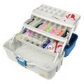 Plano Ready Set Fish Three-Tray Tackle Box - Aqua Blue\/Tan [620310]