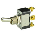 BEP SPDT Chrome Plated Toggle Switch - ON\/OFF\/(ON) [1002015]