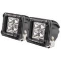 "HEISE 4 LED Cube Light w\/Harness - Spot Beam- 3"" - 2 Pack [HE-HCL2S2PK]"