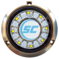 Shadow-Caster Blue\/White Color Changing Underwater Light - 16 LEDs - Bronze [SCR-16-BW-BZ-10]