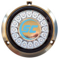 Shadow-Caster Bimini Blue Single Color Underwater Light - 16 LEDs - Bronze [SCR-16-BB-BZ-10]