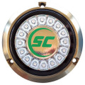 Shadow-Caster Aqua Green Single Color Underwater Light - 16 LEDs - Bronze [SCR-16-AG-BZ-10]